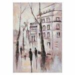 Street Tablou oras, canvas, Multicolor