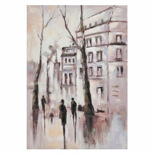 Street Tablou oras, canvas, Multicolor
