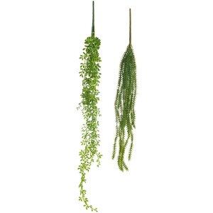 Talisha Planta curgatoare artificiala, Plastic, Verde