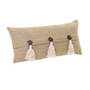 Tass Perna decorativa, Textil, Bej