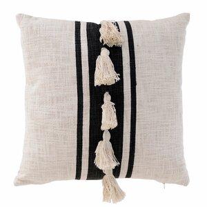 Tassel Perna decorativa, Textil, Negru