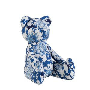 Teddybear Decoratiune, Textil, Albastru