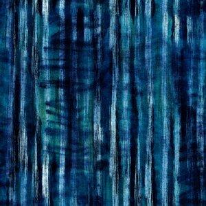 Tie Dye Indigo Set 3 role tapet, Netesut, Multicolor