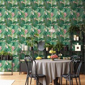 Tropical Foliage Set 3 role tapet, Netesut, Multicolor
