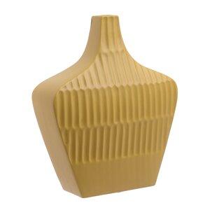 Vania Vaza, Ceramica, Galben
