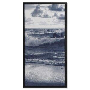 Wavess Tablou, MDF, Albastru