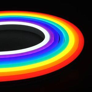 Bandă LED Neon Flex 10 W / m, secțiune 8 x 16 mm, outdoor MacroLight