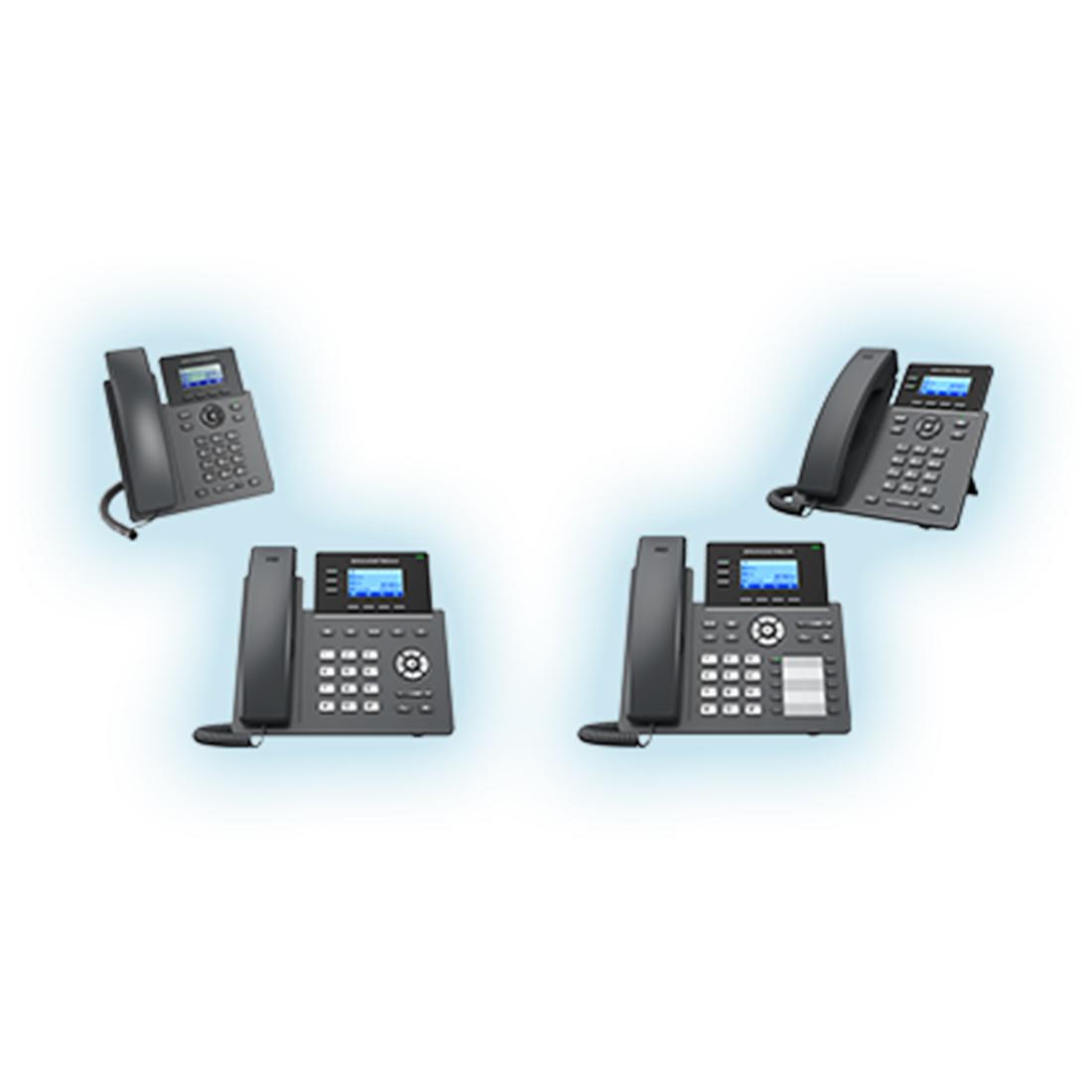 Telefoane voce IP Carrier-Grade Essential seria GRP