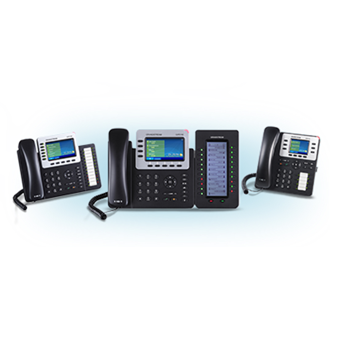 Telefoane voce IP High End seria GXP