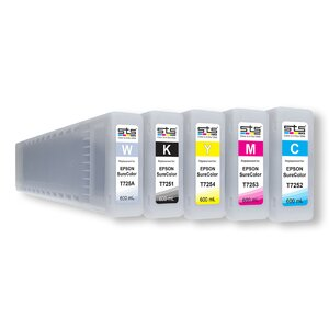 Cerneală STS DTG dye, cartus 600 mL, compatibil Epson Surecolor F 2000   F 2100
