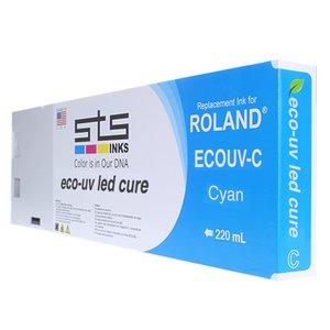 Cerneală STS Eco-UV3 Led, cartuș, compatibil Roland Versa UV LEC, Roland Versa UV LEF, Roland Versa UV LEJ