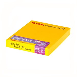 Film profesional Kodak Portra 160 10SH 4 x 5 in