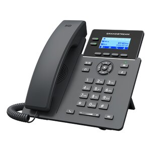 GRP2602P Grandstream telefon IP 4 linii HD cu ecran color 2,21 LCD