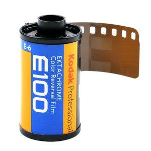 Kodak Ektachrome 100 135-36 film foto color profesional