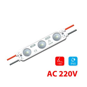 Modul lentilă 3 LED SMD2835 2W 220V MacroLight