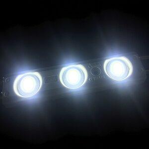Modul lentilă 3 LED SMD5730 1,32W MacroLight