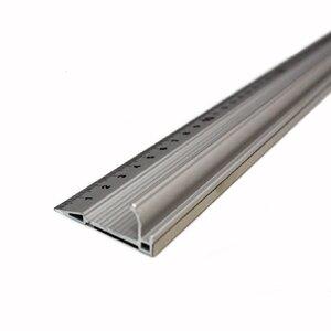 Riglă ECONOMIC din aluminiu cu protecție