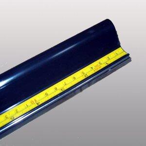 Riglă SLIM din aluminiu cu protecție