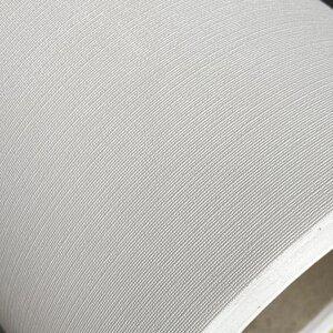 Tapet Ritrama Deco-Wall 150 microni, alb texturat canvas, polimeric, adeziv permanent, spate alb