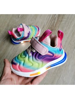 Adidasi cu LED Multicolor fete