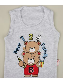 Body bear family gri