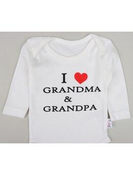 Body ml i love grandma & grandpa alb