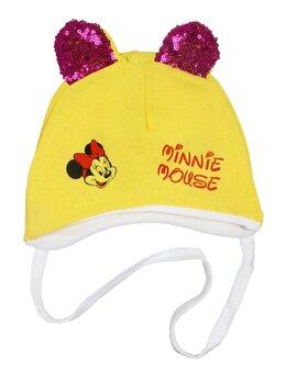 Caciulita Minnie galben