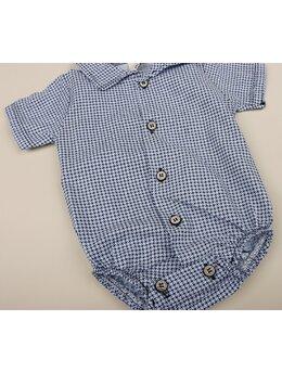 Cămașă stil body bleu Ianis
