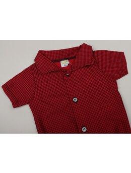 Cămașă stil body roșu Ianis