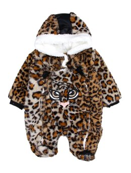 Combinezon leopard fetita