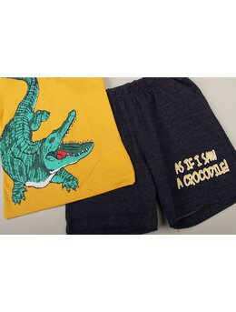 Compleu Crocodile galben