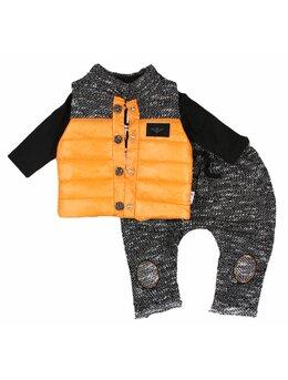 Compleu fashion Lolly portocaliu