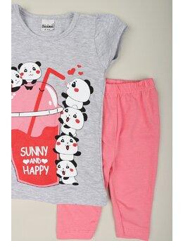 Compleu girl sunny panda model gri