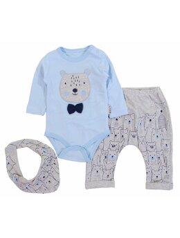 Compleu little panda bleu