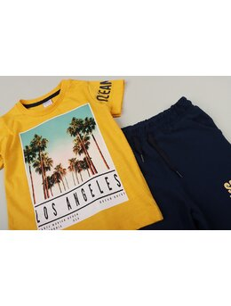 Compleu Los Angeles galben