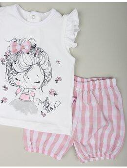 Compleu pretty girl carouri roz