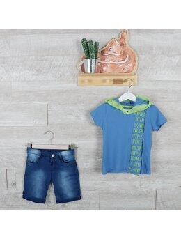 Compleu super boys fashion albastru