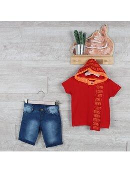 Compleu super boys fashion rosu