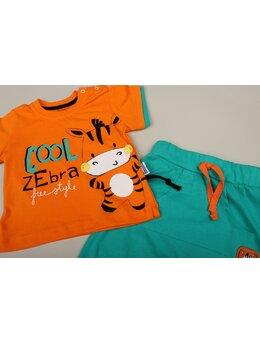 Compleu Zebra Miniworld portocaliu