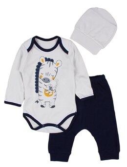 Costumas 3 piese zebra model 1