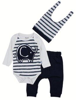 Costumas elefant negru