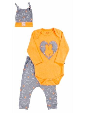 Costumas rabbit portocaliu