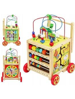 Cub educativ antepremergator lemn  6 in 1