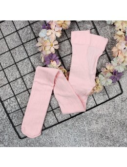 Dres de vara dungi fine model roz 50Den