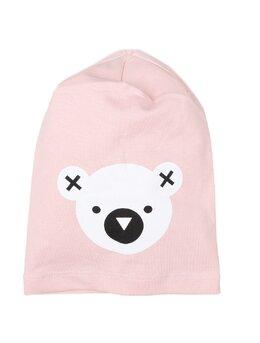 Fes cu cap de ursulet model roz