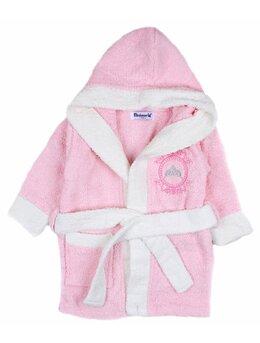 Halat de baie Princess roz
