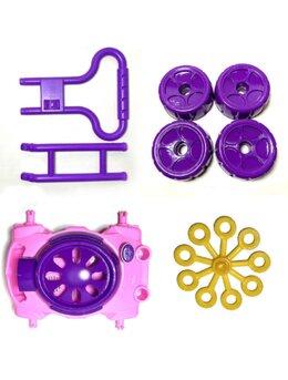 Masina de facut baloane de sapun pentru copii, Pink