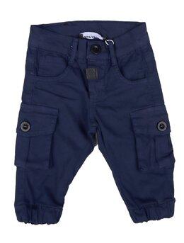 Pantaloni cargo bleumarin