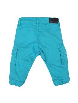Pantaloni cargo turcoaz