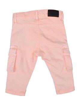 Pantaloni de blug pătați cargo portocaliu